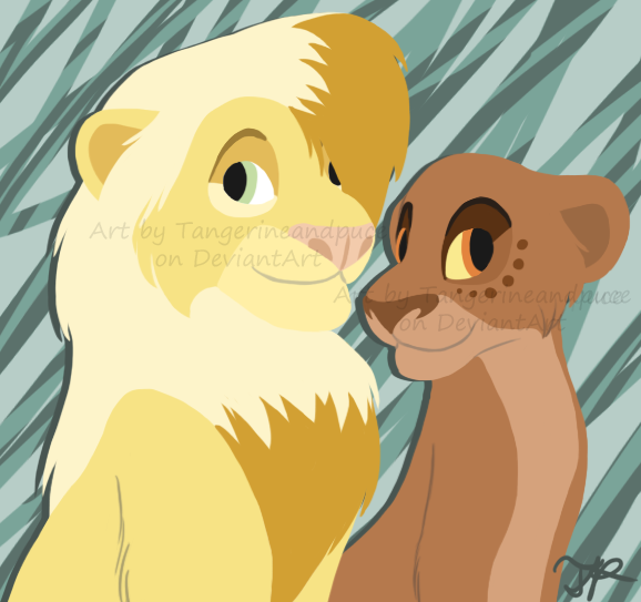Crossovers King And Queen: Lion King Fanart And Fanfiction By Tangerineandpuce On
