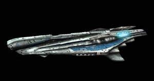 Normandy Class Dreadnought by Darkrelams1