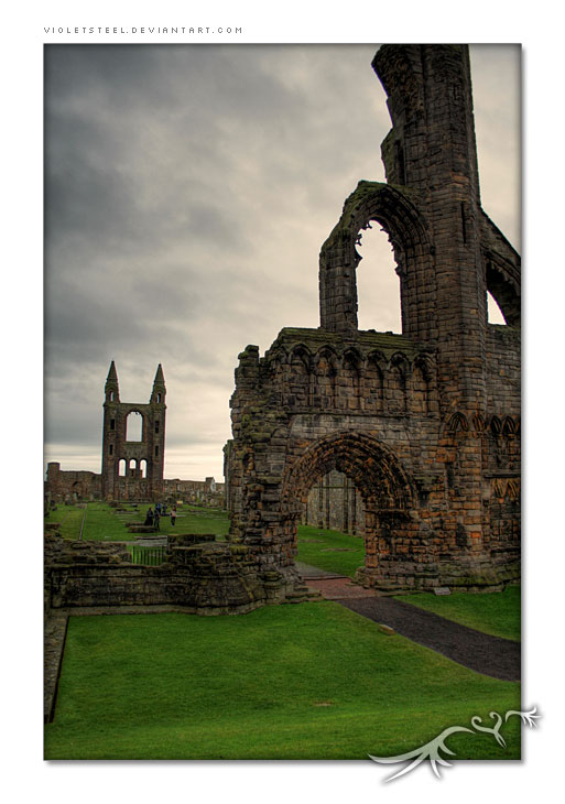 St Andrews - Ruins 1 - HDR
