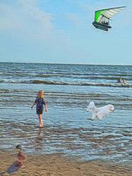 Swim Wade Fly Stroll by Jodonna