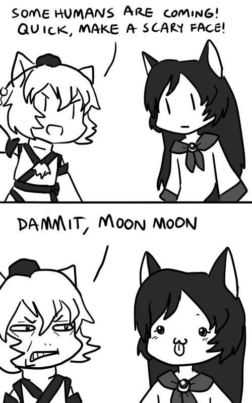 Dammit Moon Moon by MorriganAnneAensland on DeviantArt Email Spamming