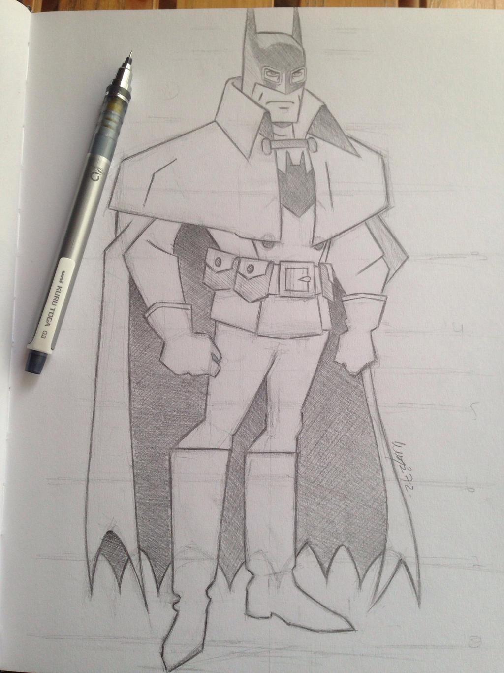 Batman Gotham By Gaslight Sketch By Luispi72 On Deviantart