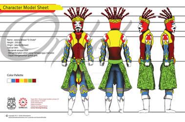 Si Ondel_Character Model Sheet