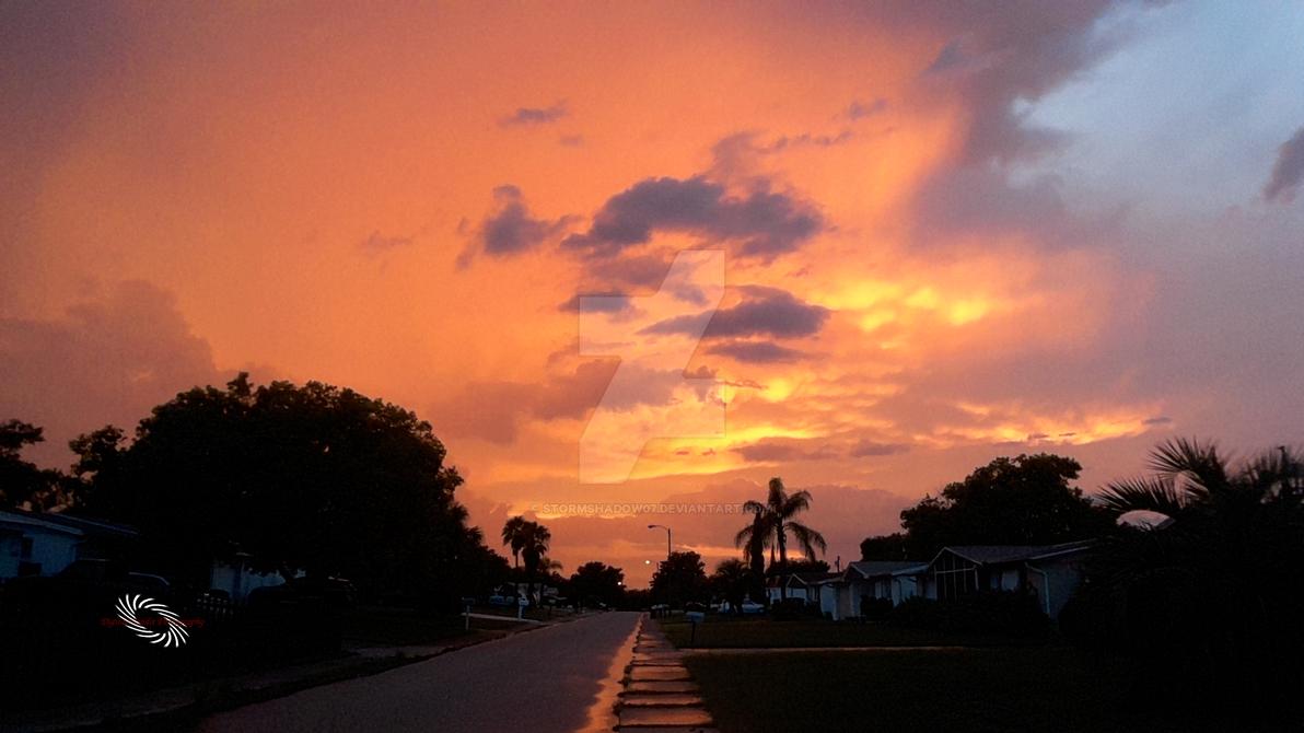 Burning Sky by stormshadow07