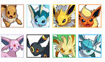 Eeveelution Avatars