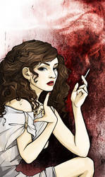 lipstick's trace