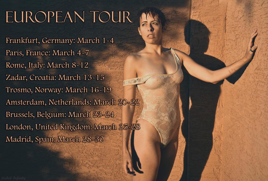 European Tour by AngieMarieDreams
