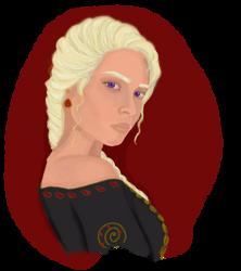Rhaella Targaryen by Chachamaru-sama