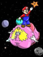 Stupid Mario by bishunter