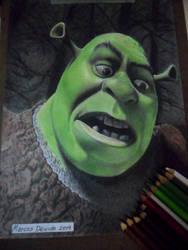 Shrek by rosan-mate