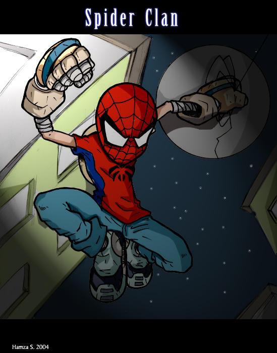 Spider Clan CG by FireSage