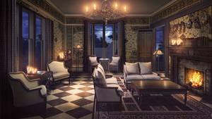 Visual Novel Background- Witch Mansion
