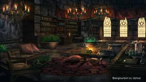 Visual Novel Background-Wizard Lab