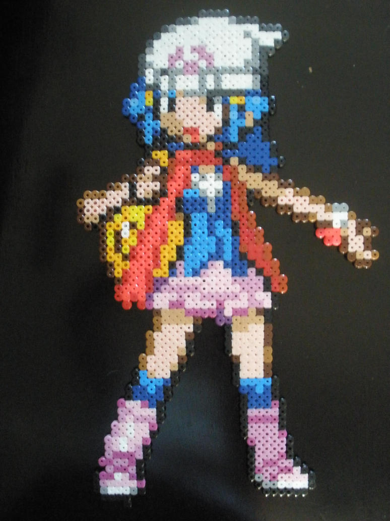Dawn, Perler Beads by DarkTangrowth
