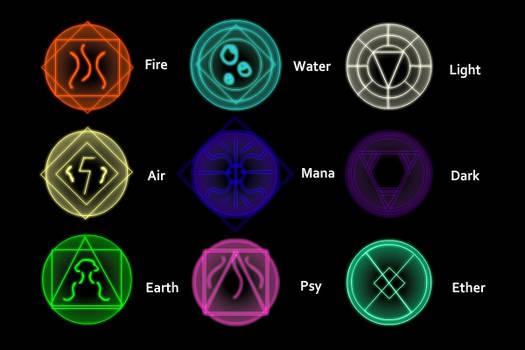 Elemental Glyphs