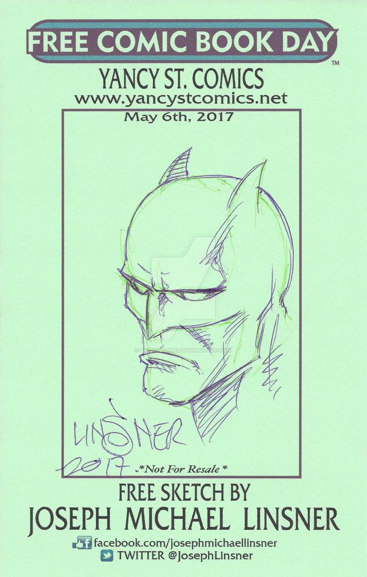 Batman Head Sketch Shoot by SirSkullReed