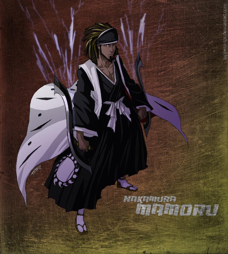 Bleach Oc Hakugin Jin By Sarzill On Deviantart: Bleach OC Nakamura Mamoru By Sarzill On DeviantArt