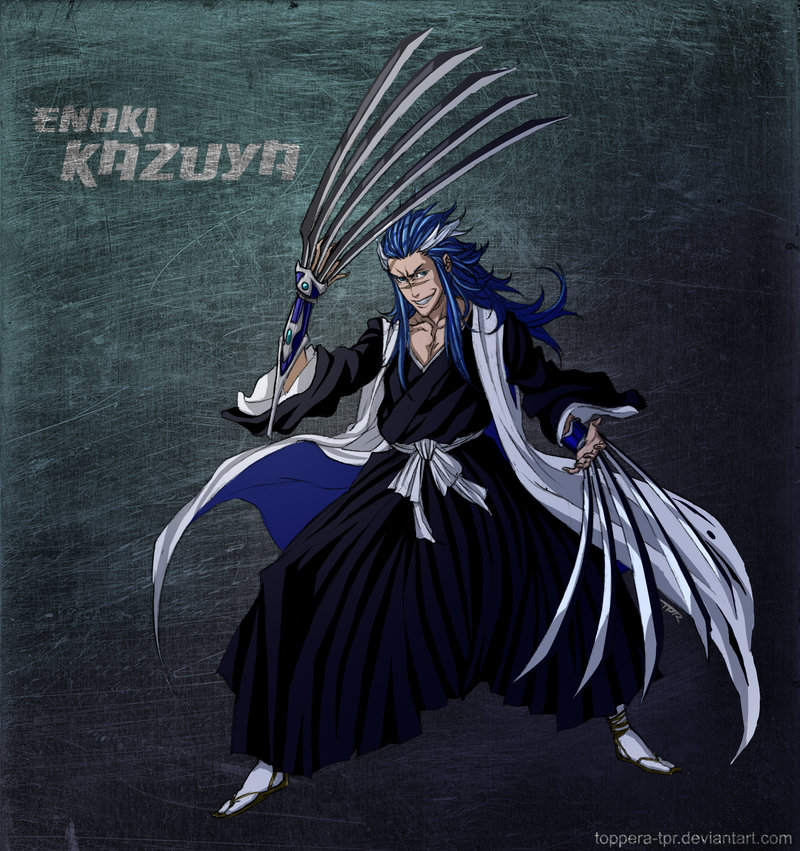 Bleach Oc Arashi By Sickeld160 On Deviantart: Bleach OC Enoki Kazuya By Sarzill On DeviantArt