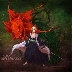 Bleach OC Shimizu Aoi by sarzill