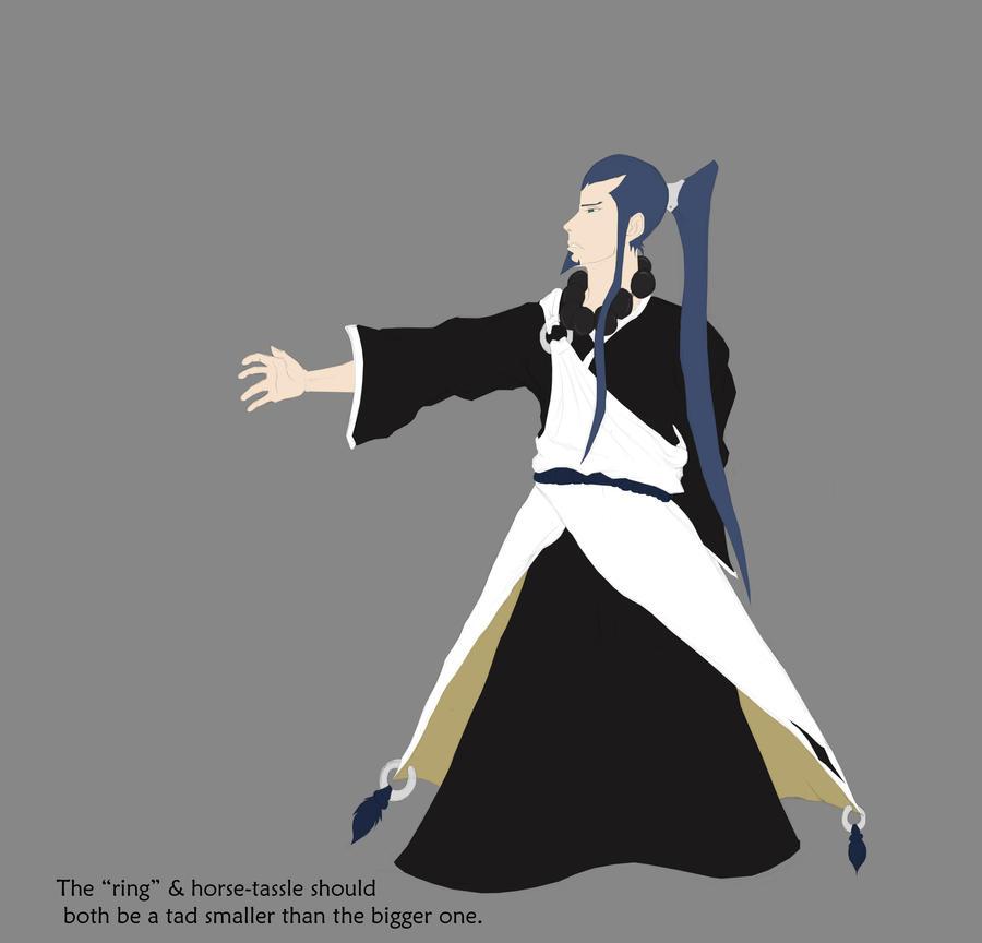 Bleach Oc Hakugin Jin By Sarzill On Deviantart: Takashi Bleach Oc Wip By Sarzill On DeviantArt