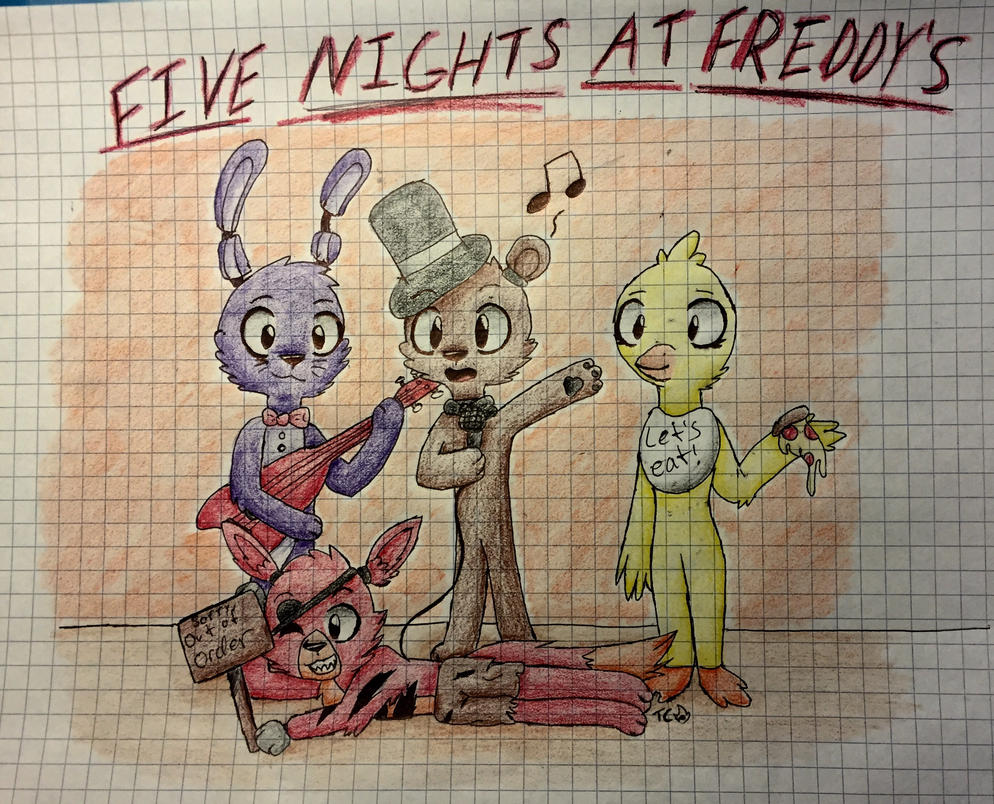 Five nights at cute freddy s by tinyclawthecat on deviantart