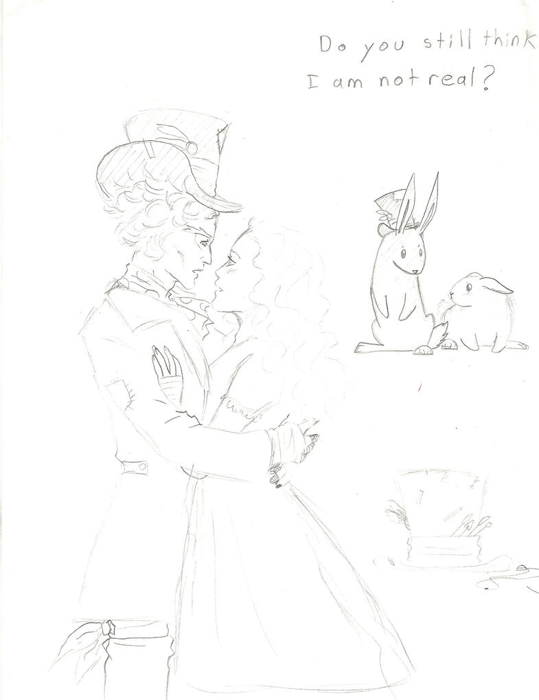 Alice In Wonderland Sketches 1 by PieMakesMeHappy123