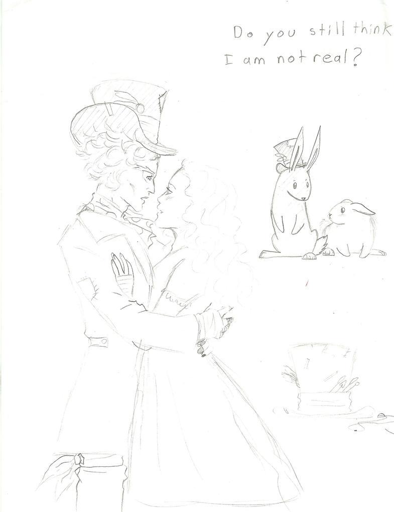 Alice In Wonderland Sketches 1 by PieMakesMeHappy123