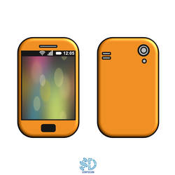 Smartphone Vector Color by scorpdesigner