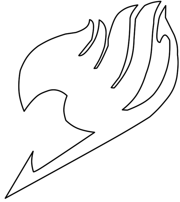 Fairy Tail White Symbol Clipart Library