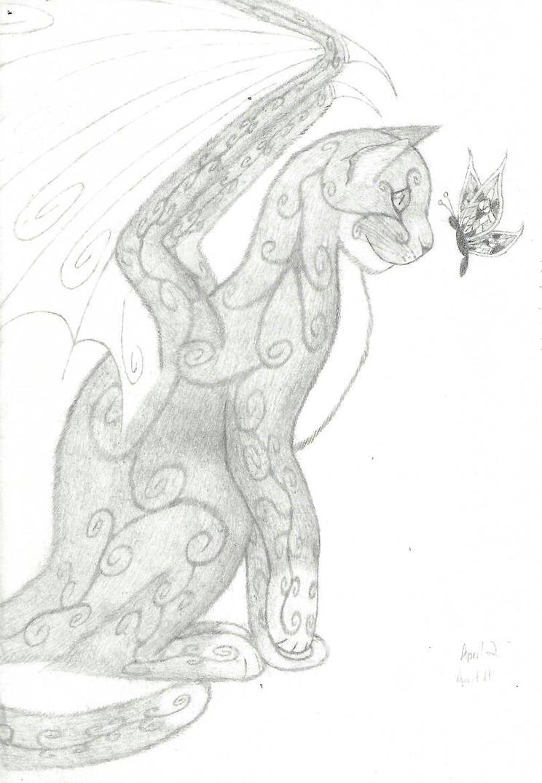 Fantasy Cat by Dragonfly-V