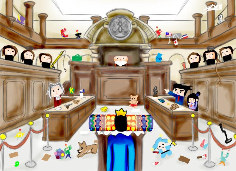 Katamari on the Court by KitsuneAyame