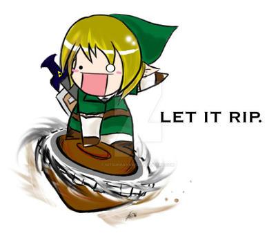 New Spin on Zelda by KitsuneAyame