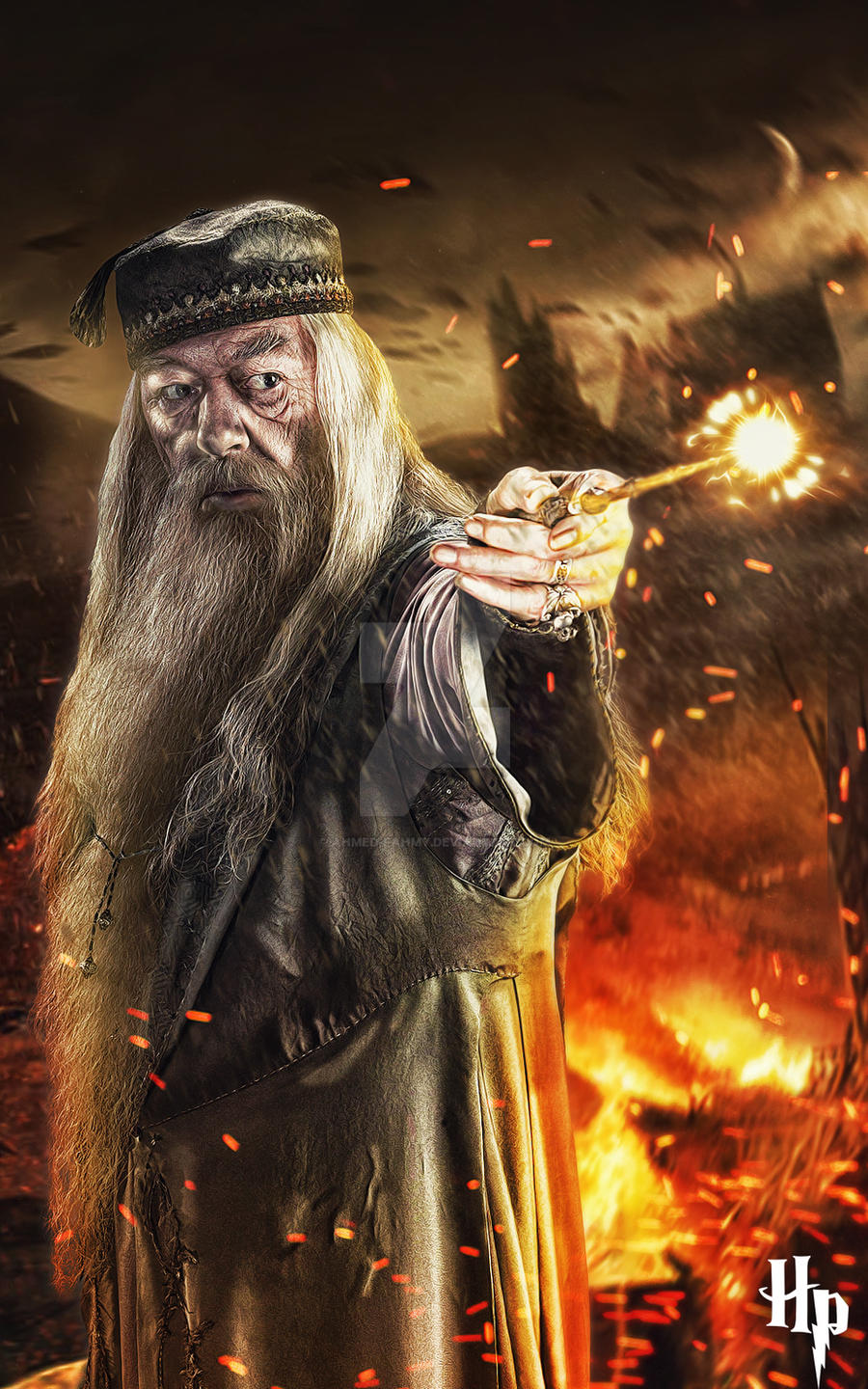 Albus Dumbledore Poster By Ahmed Fahmy On Deviantart