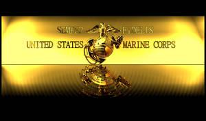 USMC Desktop Gold Themed