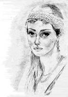 Helena z Ogniem i Mieczem by AmrasVeneanar