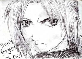 Ed Elric - Fullmetal Alchemist by AmrasVeneanar