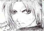 Ed Elric - Fullmetal Alchemist