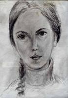 Smutna dziewczyna by AmrasVeneanar