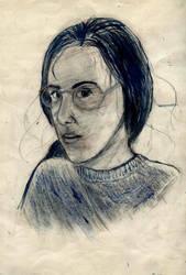 Dziewczyna z warkoczem by AmrasVeneanar