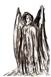 Black angel by AmrasVeneanar