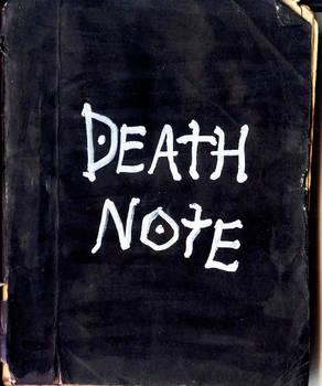 Death Note - handmade