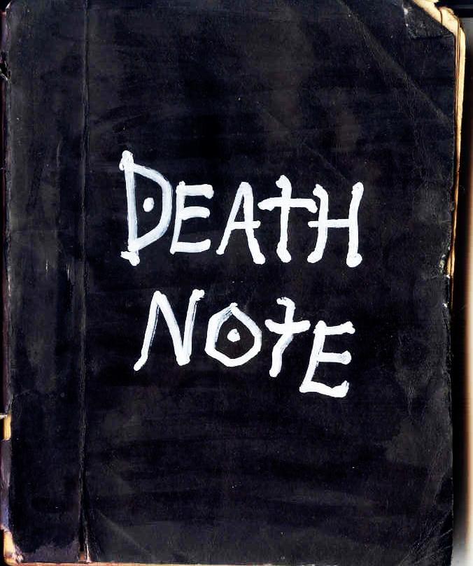 Death Note - handmade by AmrasVeneanar