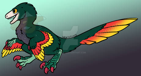 Feathered Raptor adopt 1 - Closed