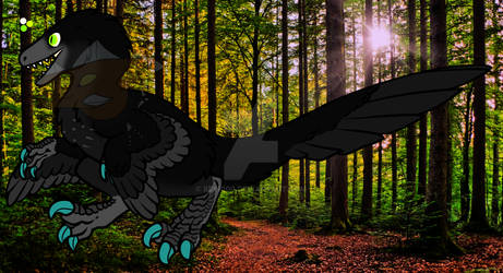 Feathered Raptor adopt 2 - Closed