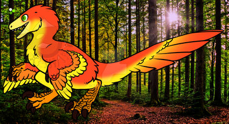 Feathered Raptor adopt 3 - CLOSED