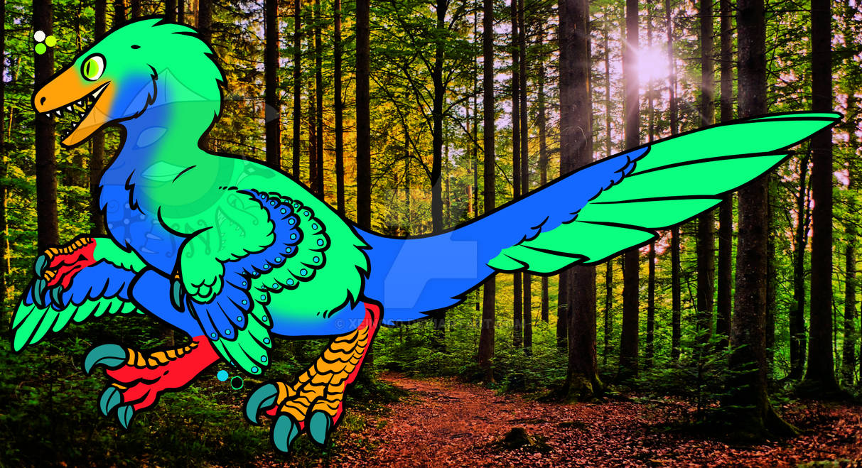 Feathered Raptor adopt 4 - Open