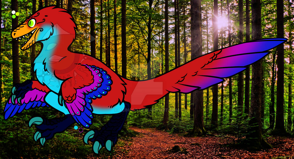 Feathered Raptor adopt 5 - Open