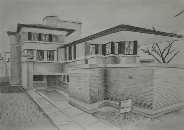Robie house by paulstew on deviantart