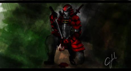 The Crimson Blade by bleep-bleep-kun