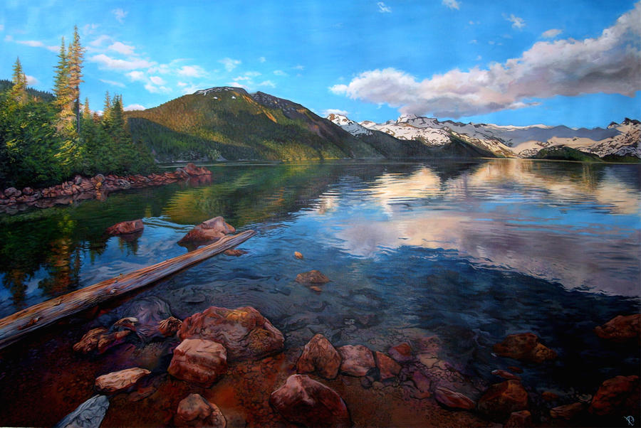 Westcoast landscape by Rpriet1West Coast Landscape Wallpaper